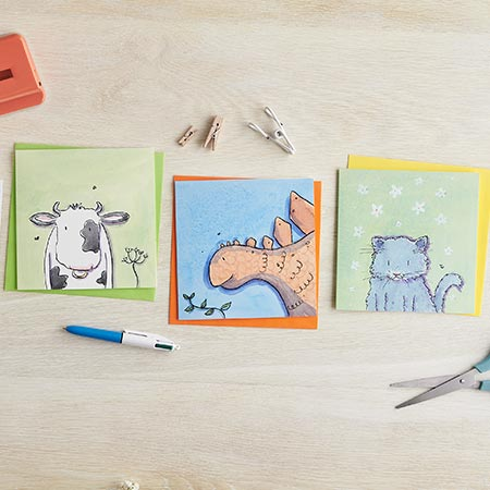 Illustrated birthday / greetings cards - Helen Wiseman Illustration
