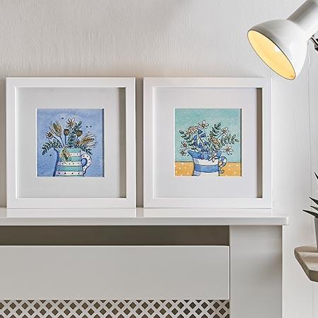 Illustrated framed prints - Helen Wiseman Illustration