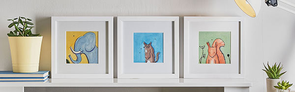 Illustrated framed prints - Helen Wiseman Illustration.