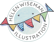 Helen Wiseman Illustration logo