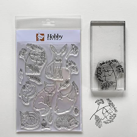 Buy Art Stamp Set 'British Wildlife' from Helen Wiseman Illustration