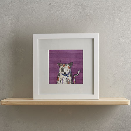 Buy Tortoiseshell Cat Print 'Colin' from Helen Wiseman Illustration