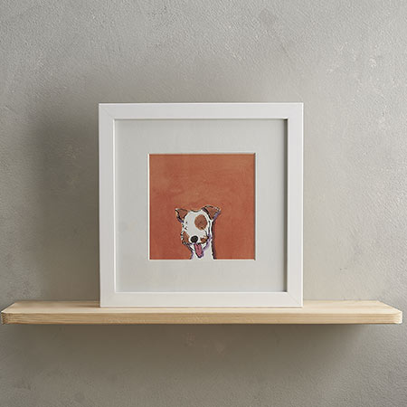 Buy Terrier Dog print 'Scoobie' from Helen Wiseman Illustration