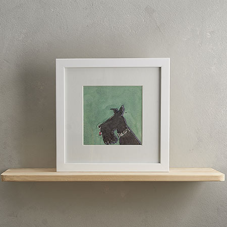Buy Scotty Dog Print 'Frank' from Helen Wiseman Illustration