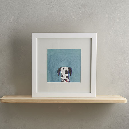 Buy Dalmatien Dog Print 'Nigel' from Helen Wiseman Illustration