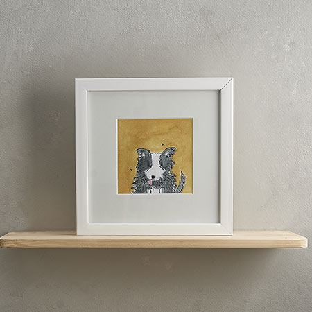 Sheep Dog Print 'Barker'