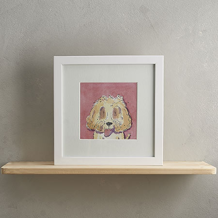 Buy Cockerpoo Dog Print 'Stanley' from Helen Wiseman Illustration