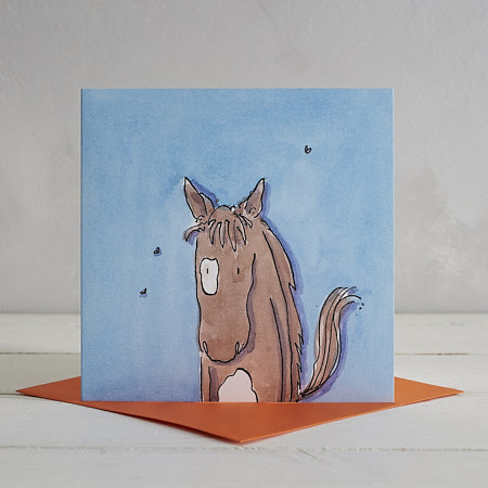 Buy Horse Greetings Card 'Grace' from Helen Wiseman Illustration