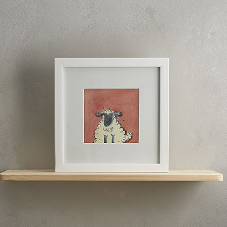 Buy Sheep Print 'Freya' from Helen Wiseman Illustration