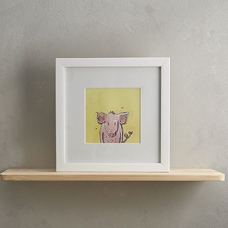 Buy Pig Print 'Patricia' from Helen Wiseman Illustration