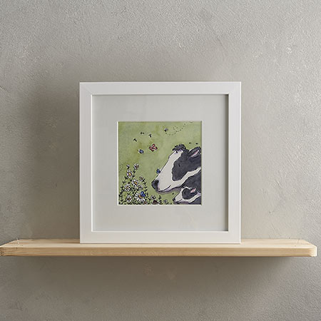 Buy Cow Family Print 'Cowslip & Daisy' from Helen Wiseman Illustration