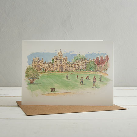 Buy St Johns College, Cambridge Greetings Card from Helen Wiseman Illustration
