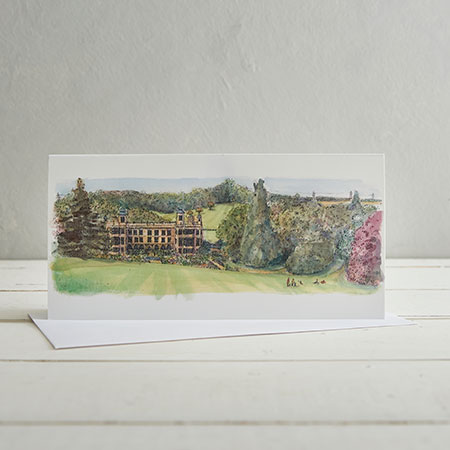Buy Picnic at Audley End Greetings Card from Helen Wiseman Illustration