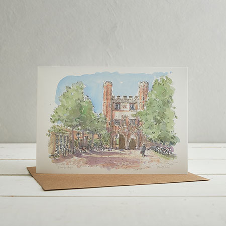 Trinity College, Cambridge Greetings Card
