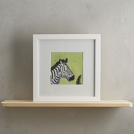 Buy Zebra Print 'Zoe' from Helen Wiseman Illustration