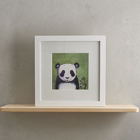 Buy Panda Print 'Emily' from Helen Wiseman Illustration
