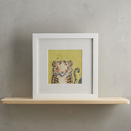 Buy Tiger Print 'Dudley' from Helen Wiseman Illustration