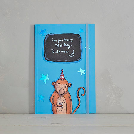 Important Monkey Business Notebook