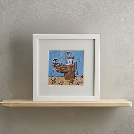 Buy Fishing Boat Print 'Fishing Boat' from Helen Wiseman Illustration