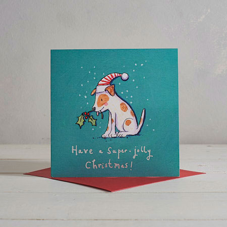 Buy Little Dog Christmas Card from Helen Wiseman Illustration